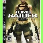 CD PS3 s DVD Tomb Raider Underworld